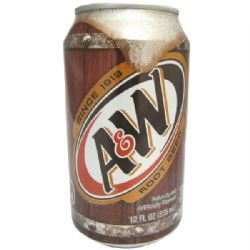 Case of American A&W Root Beer | 12 cans | Authentic Food from USA| Buy Online | UK | Europe